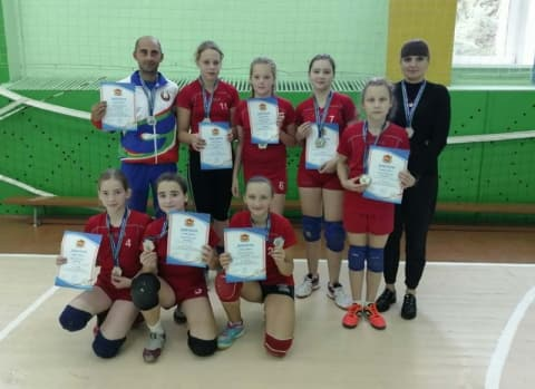 Победы юных волейболисток