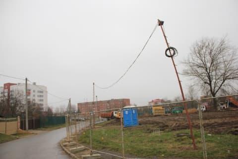 Еще один коммерческий дом строят в Лиде