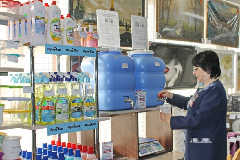 «И мне литр налейте…» Бытовую химию в Лиде можно купить выгодно!