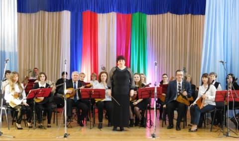 Народному оркестру  русских народных инструментов  преподавателей Лидской детской музыкальной школы – 50!