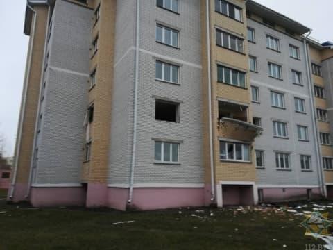В многоэтажке в Дрогичине взорвалась квартира, есть пострадавшие
