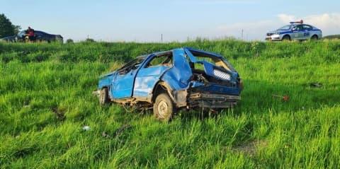 В аварии в Лидском районе пострадали 2 человека
