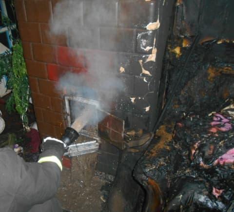 В Лиде по Фурманова горел частный дом