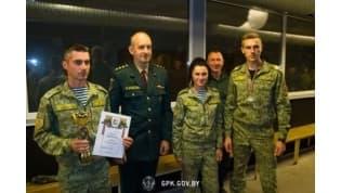 Белорусские пограничники-кинологи заняли призовые места на международном соревновании в Латвии