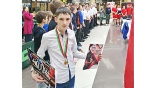 Лидчанин – победитель юношеской лиги бокса