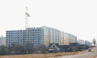 В Лиде строят еще один дом для очередников