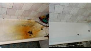 Как быстро и недорого восстановить старую ванну?