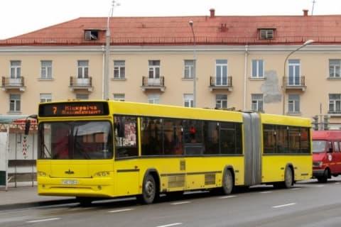 К  новому  кладбищу под Лидой пустили  автобус