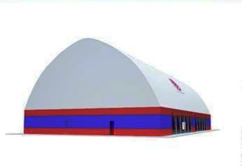 На спортивном комплексе «Старт» по ул. Качана появится крытый корпус