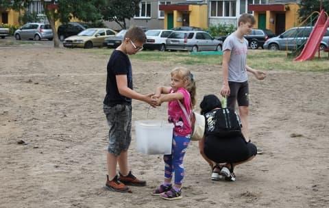 Жители ул. Машерова благодарят руководство района за помощь