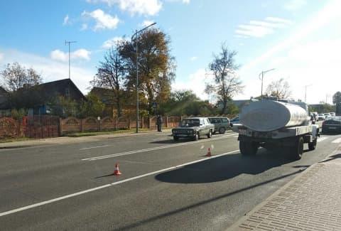 На выходных в Лиде под колеса попал пешеход