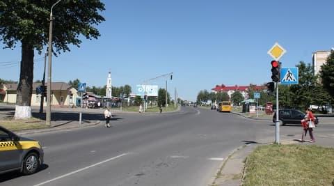 Лидчане просят изменить разметку на одном из перекрестков на Слободе