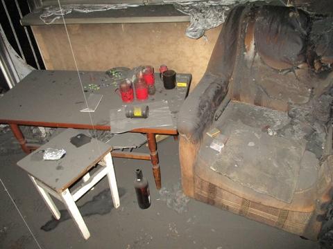 В Лиде на пожаре в квартире погибли три человек