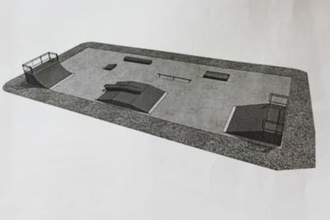 В Лиде оборудуют площадку для занятий скейтбордом