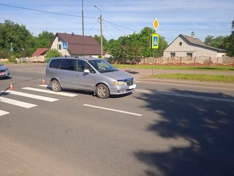 В Лиде – очередная авария с пешеходом