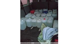 В Ивьевском районе задержана крупная партия контрафактной спиртосодержащей жидкости